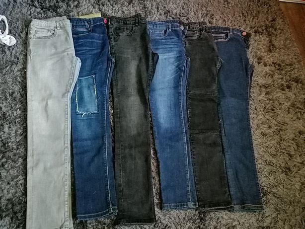 Spodnie fit skinny