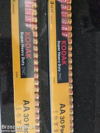 Baterie Kodak AAA oraz AA 60 szt