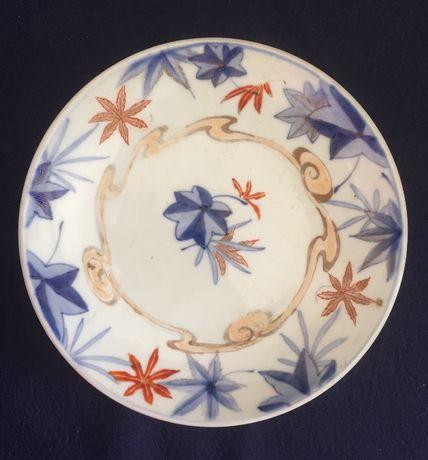 Prato porcelana companhia das índias Imari marcado raro