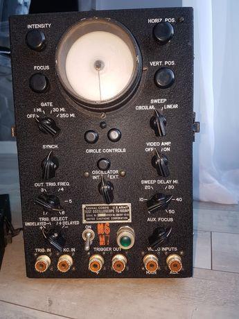 Oscyloskop Radio Lampowe projektor.