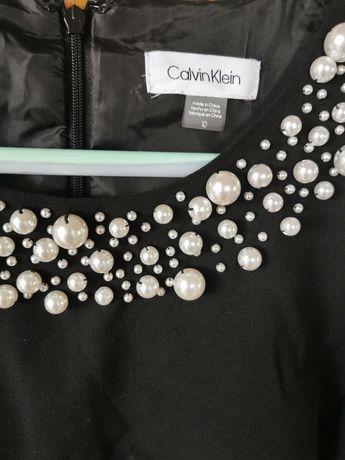 Sukienka koktajlowa Calvin Klein rozm 10