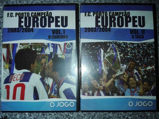 Filme DVD F C Porto Campeão Europeu 2003/2004