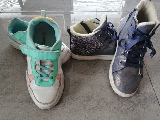 Adidasy Badoxx wiosna dziewczęce trampki 35 dł. 23cm