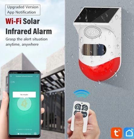 Alarme  solar hifi infravermelho ,Sirene 120 Db