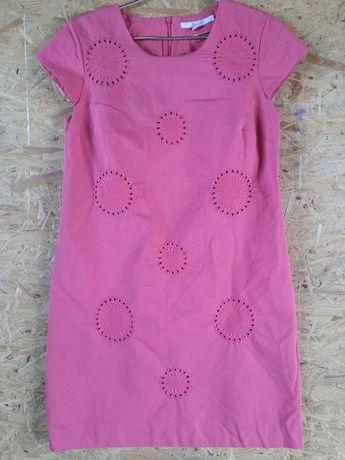 Красивое натуральное хлопковое хлопок платье сукня