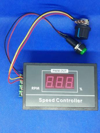 PWM Regulator obrotów silnika DC 0-100 cyfrowy wyświetlacz
