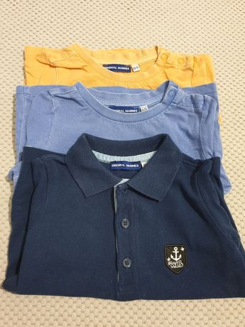 Zestaw koszulek Original Marines 74 (6-9 mc)