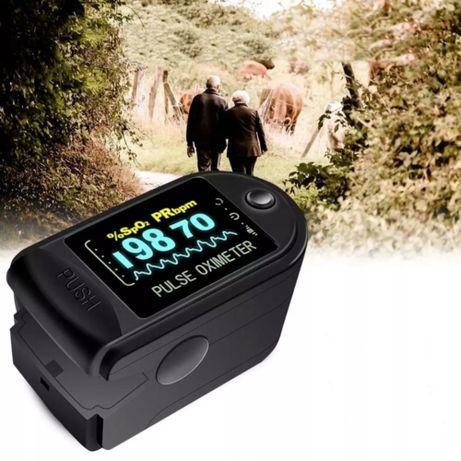 Medyczny pulsoksymetr napalcowy pulsometr OLED