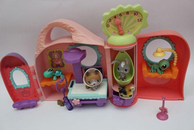 Zestaw Littlest Pet Shop plus figurki