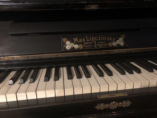 Pianino koncertowe zabytkowe Max Lipczinsky