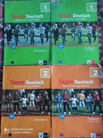 Німецька мова Team Deutsch 1 і 2