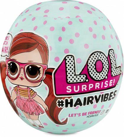 LOL Hairvibes ЛОЛ с волосами и париками Большой шар оригинал НАЛИЧИЕ!