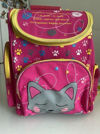 Школыный рюкзак для девочки розовый