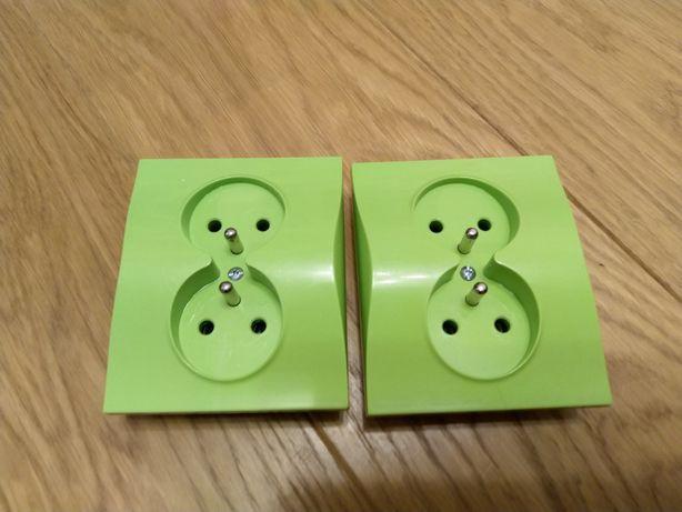 Kontakty w kolorze zielonym