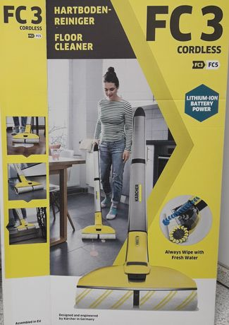 Karcher FC3 mop bezprzewodowy NOWY Dhl gratis