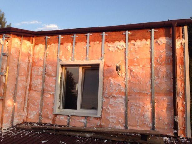 Утепление жидким пенопластом (Пеноизол) домов, чердаков, перекрытий