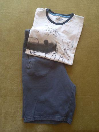Conjunto calção e t-shirt