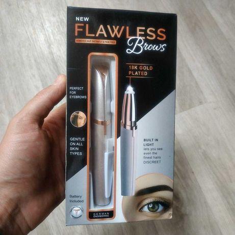 Портативный Женский эпилятор триммер для бровей и лица Flawless Brows