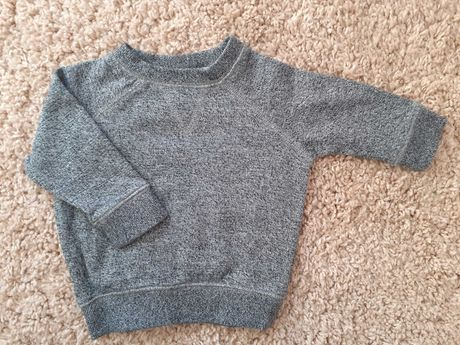 chłopięca bluza dresowa marki Next. Rozmiar 68 (3-6 m-cy).