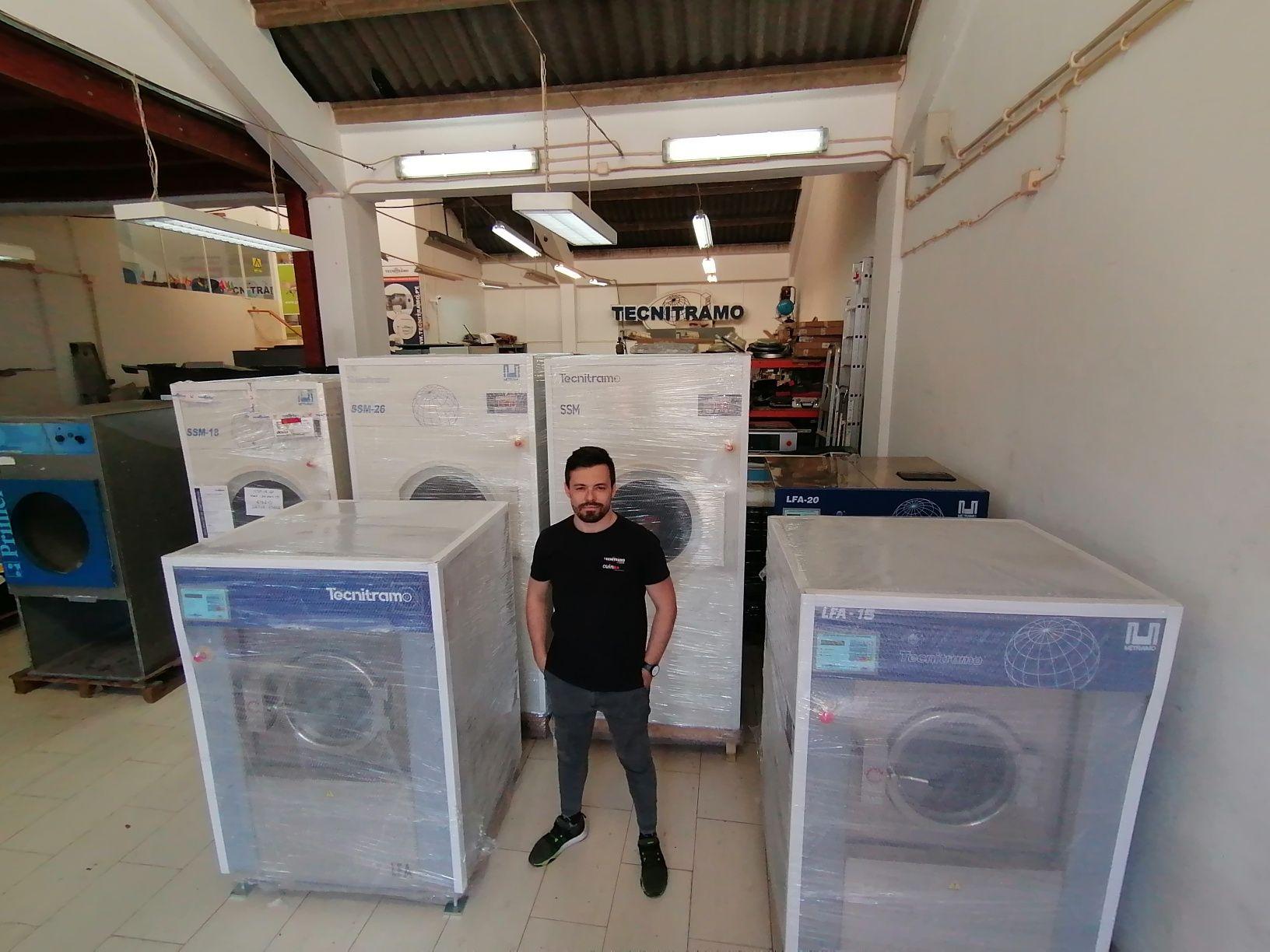 Tecnitramo Portugal lavandaria industriais e self service