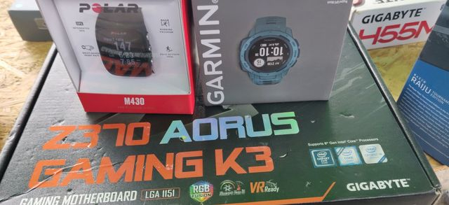 Polar m430 zegarek sportowy smartwatch GPS bieganie