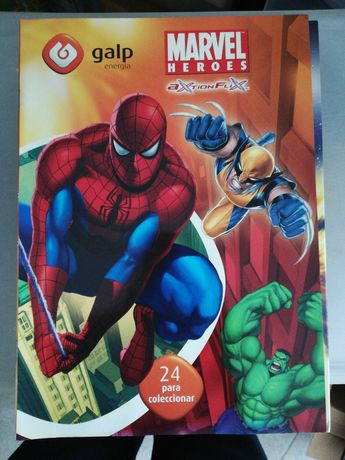 Coleção Marvel Heroes da Galp