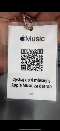 Apple music 3 miesiace za darmo