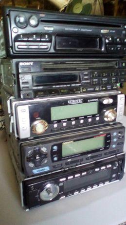 магнитолы дисковые под ремонт