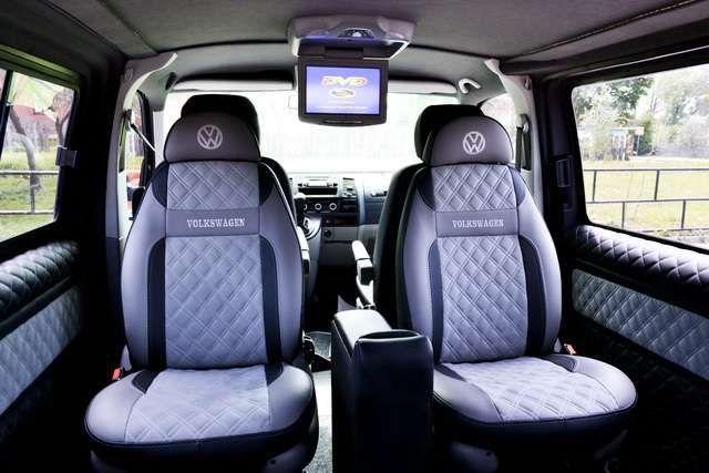 Перетяжка салона Volkswagen LT T3 T4 T5 T6 обшивка переоборудование