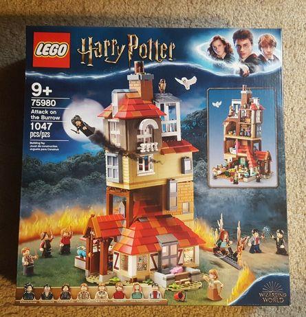 LEGO 75980 HARRY POTTER - Atak na Norę - NOWY i ORYGINALNY zestaw
