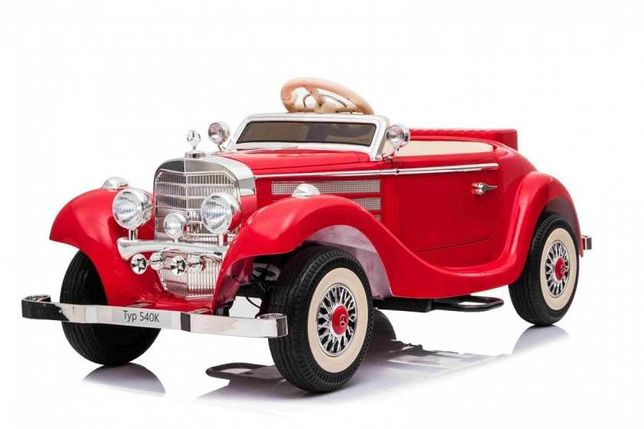 Auto Pojazd Mercedes Benz Retro Typ 540 czerwony A200