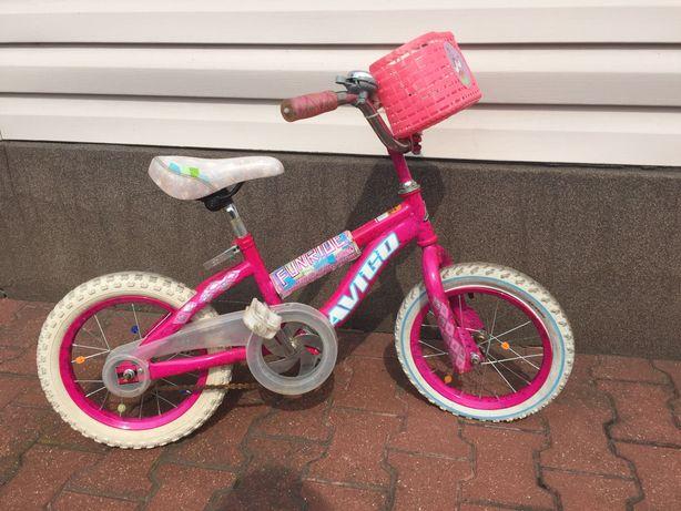 Rowerek dla dziewczynki 14 cali