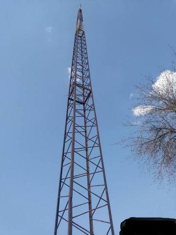 Maszt radiowy kratownicowy około 21 m