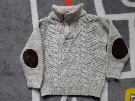 Cieply elegancki sweterk 92