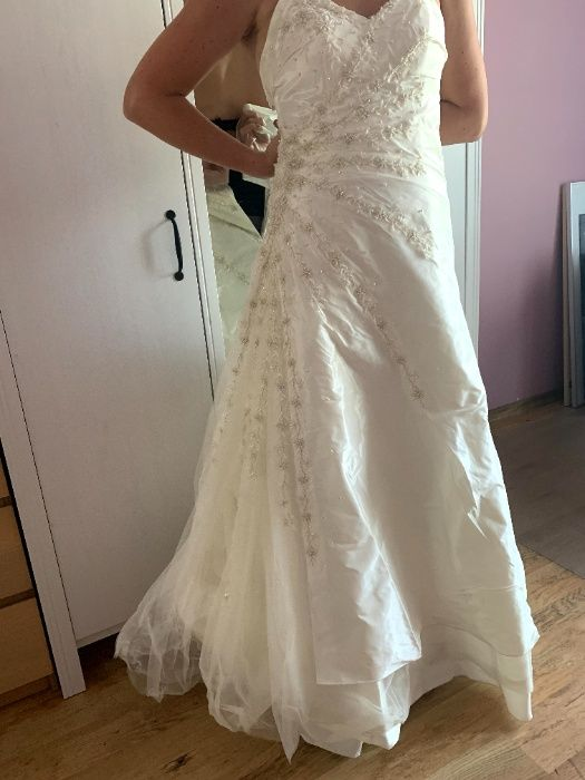 suknia ślubna ecru Gliwice - image 1