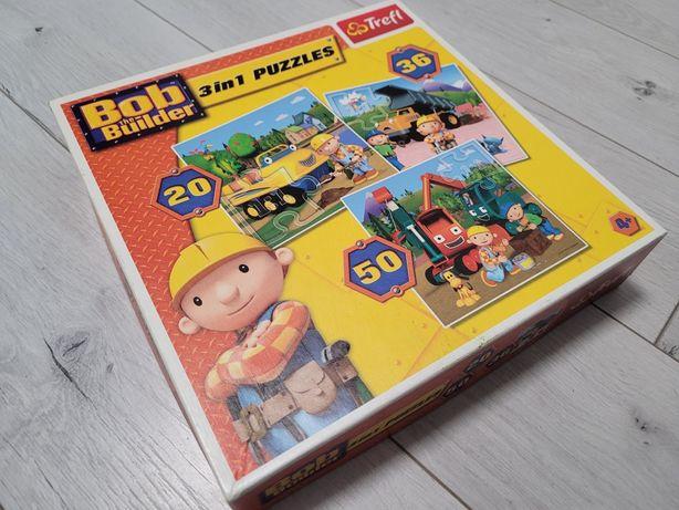 Puzzle bob budowniczy 3w1