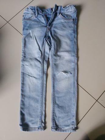 spodnie chłopiec 110 116 hm coccodrillo
