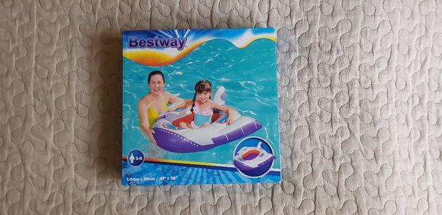 Nowy ponton dmuchany Bestway statek łódka