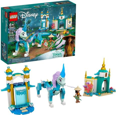 Лего 43184 Дисней Райя и дракон Сису Lego Disney Princesses