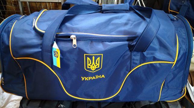 Сумка спортивная Украина 84*40*30 см