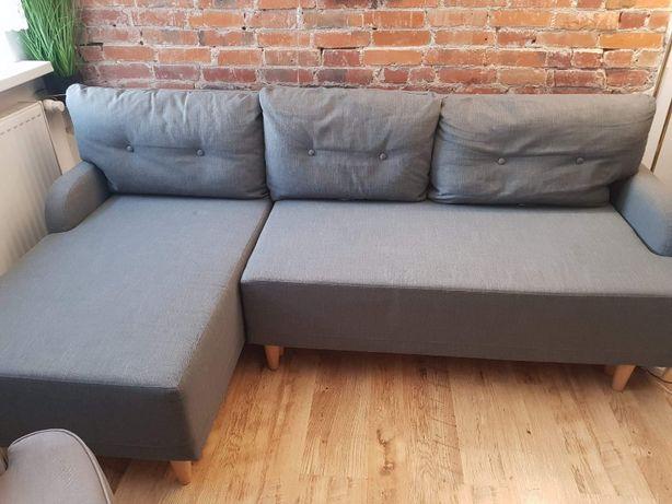 Rozkładana sofa 3-osobowa, z szezlongiem IKEA