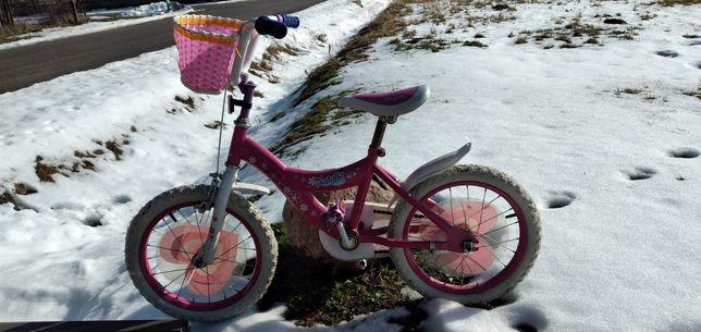 """Rower dla dziewczynki 16"""""""