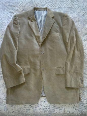 Мужской бежевый пиджак