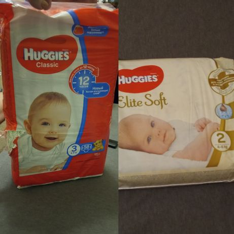 Хагис haggies elite soft 2, classic 3