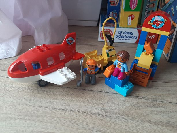 LEGO DUPLO 10590 Lotnisko, samolot, klocki