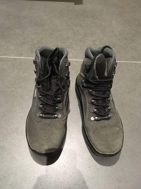 Szare buty trekingowe damskie rozm. 38