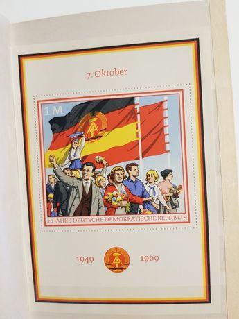 znaczki pocztowe DDR bloczki pocztowe