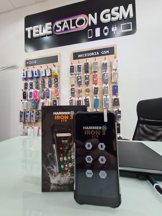 NOWY Hammer Iron 3 LTE Mega wytrzymały Galeria Aura Staszów - image 1
