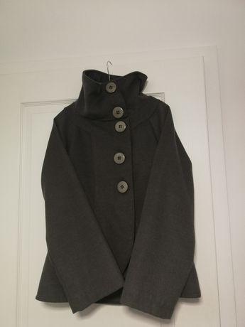 Płaszcz jesienny szary S