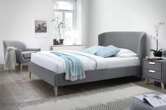 Łóżko -20% ALEXIS 160 cm szare NOWOŚĆ